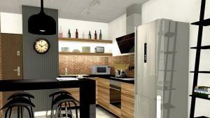 Nowoczesne meble kuchenne do domu i mieszkania